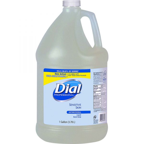 Dial Antimicrobial Liquid Hand Soap For Sensitive Skin