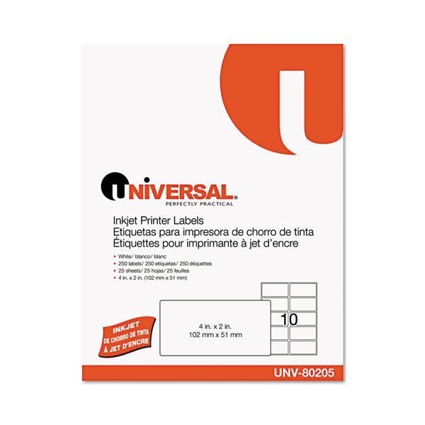Universal Permanent Shipping Labels