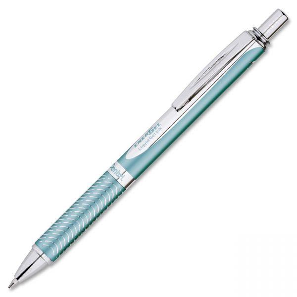 EnerGel Alloy Retractable Liquid Gel Pens