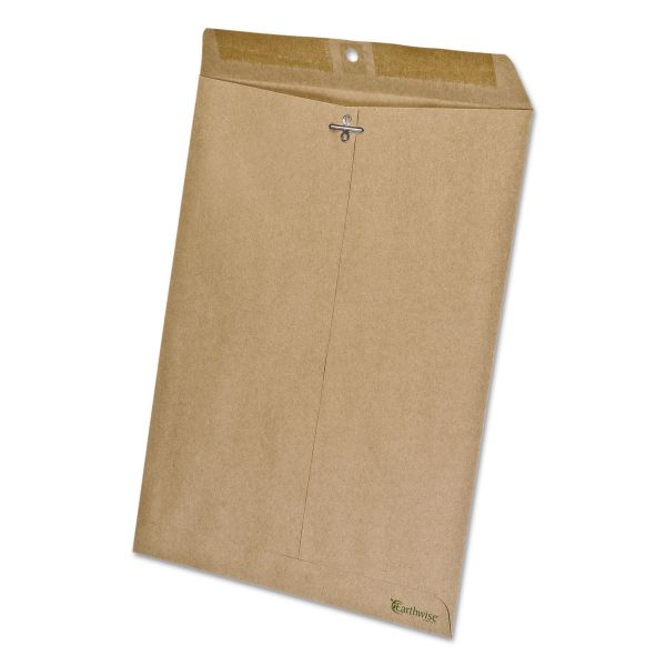 "EnviroTech 100% Recycled 10"" x 13"" Clasp Envelopes"