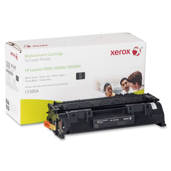 Xerox Remanufactured HP CE505A Black Toner Cartridge