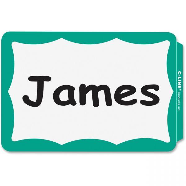 C-Line Self-Adhesive Name Tags