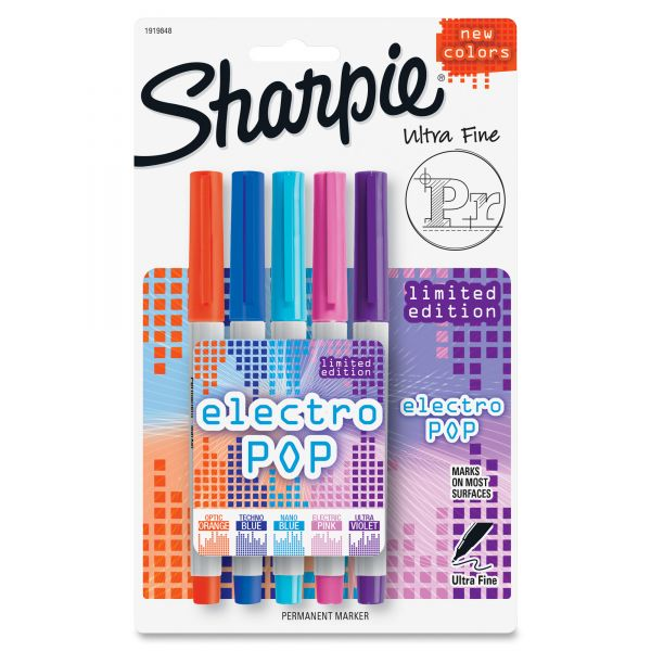Sharpie Ultra Fine Electro Pop Permanent Markers