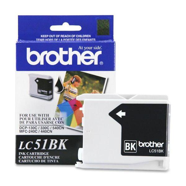 Brother LC51BK Black Ink Cartridge