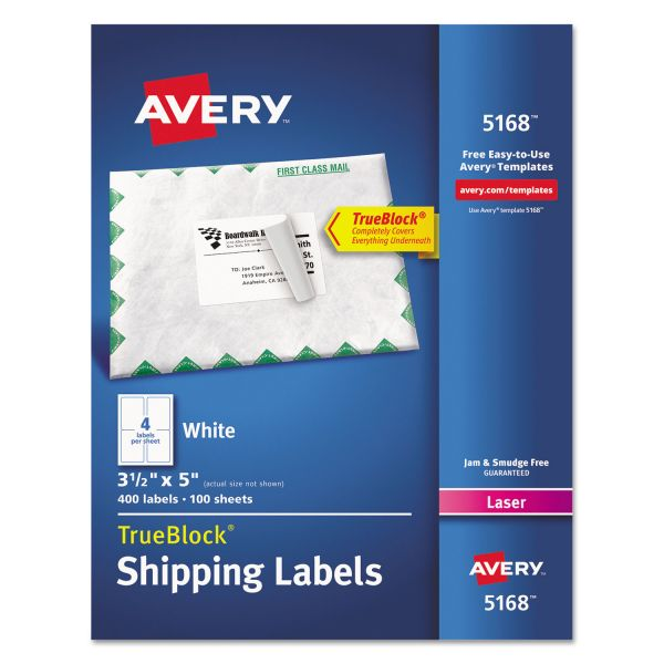Avery Easy Peel Shipping Labels
