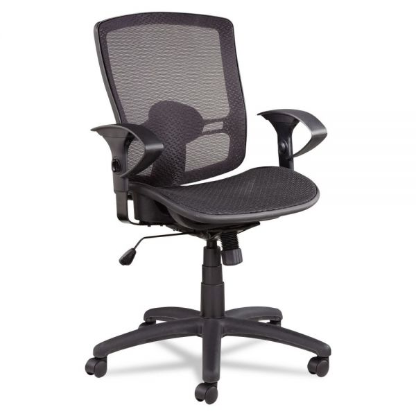 Alera Etros Series Suspension Mesh Mid-Back Synchro Tilt Office Chair