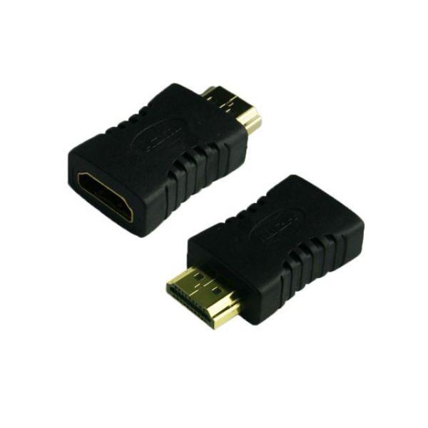 4XEM HDMI A Male To HDMI A Female Adapter