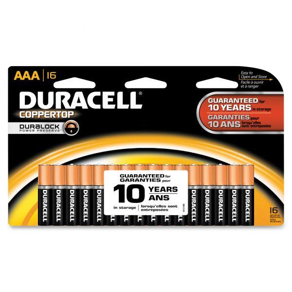 Duracell Coppertop AAA Batteries