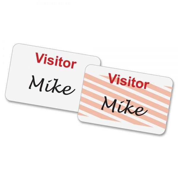 Baumgartens Self-Expiring Visitor Name Tags