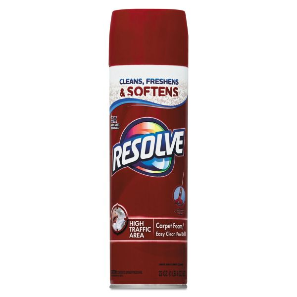 Resolve High Traffic Foam Carpet Cleaner