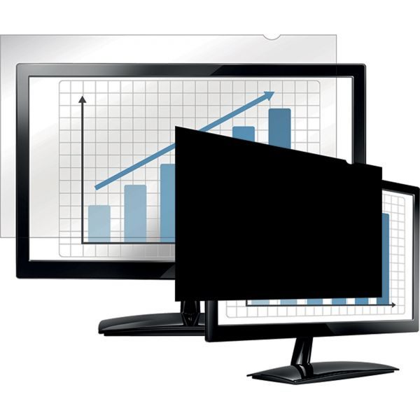 """Fellowes PrivaScreen Blackout Privacy Filter - 23.6"""" Wide"""