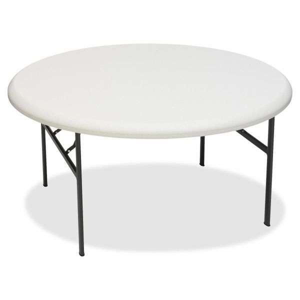 Iceberg IndestructTable Too Commercial Grade Round Folding Table