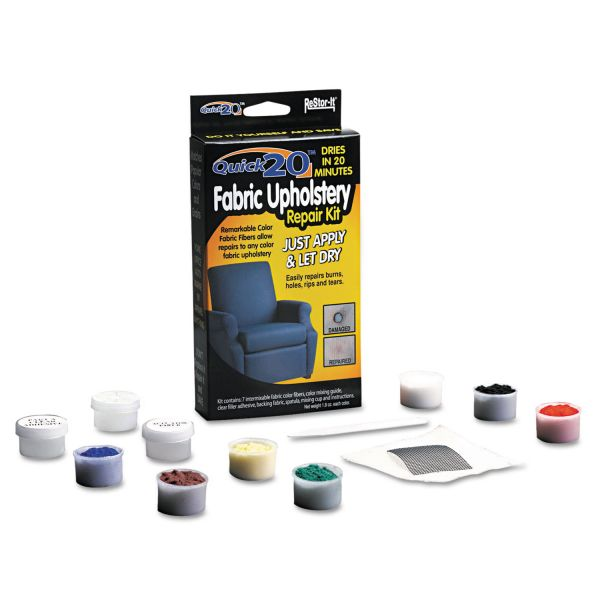 Master Caster ReStor-It Quick 20 Fabric/Upholstery Repair Kit