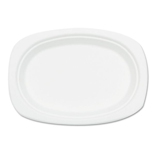 NatureHouse Oval Bagasse Plates