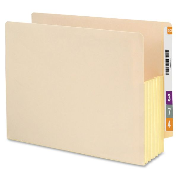 Smead TUFF Pocket Recycled End Tab File Pockets