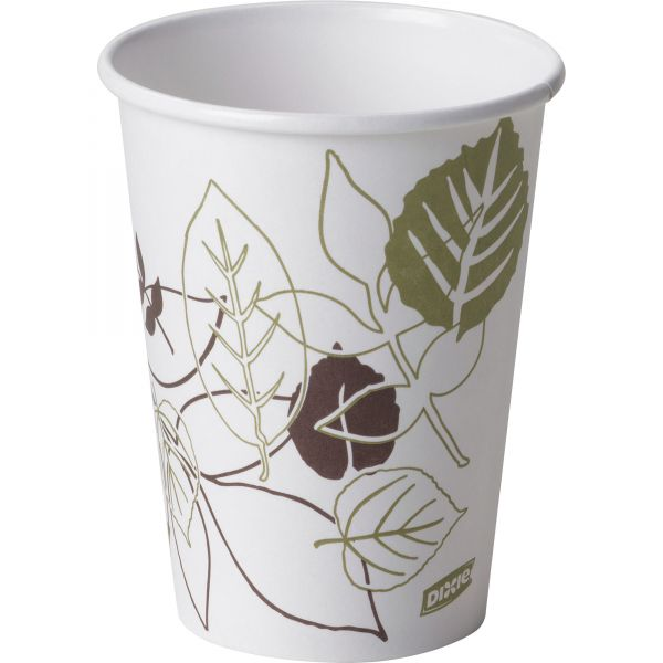 Dixie Polylined 12 oz Coffee Cups