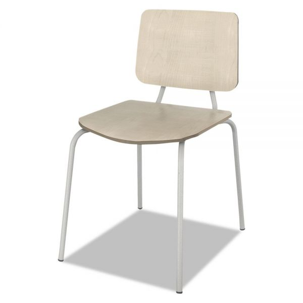 Linea Italia Trento Line Sienna Wood Stacking Chairs