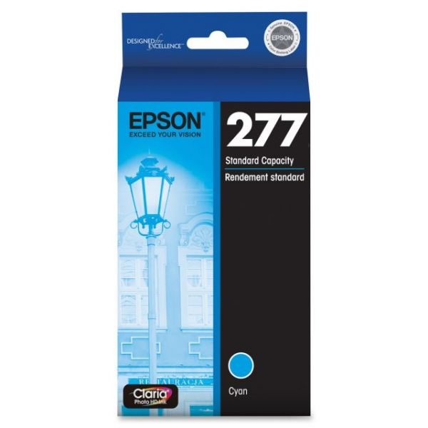 Epson Claria 277 Cyan Ink Cartridge (T277220)