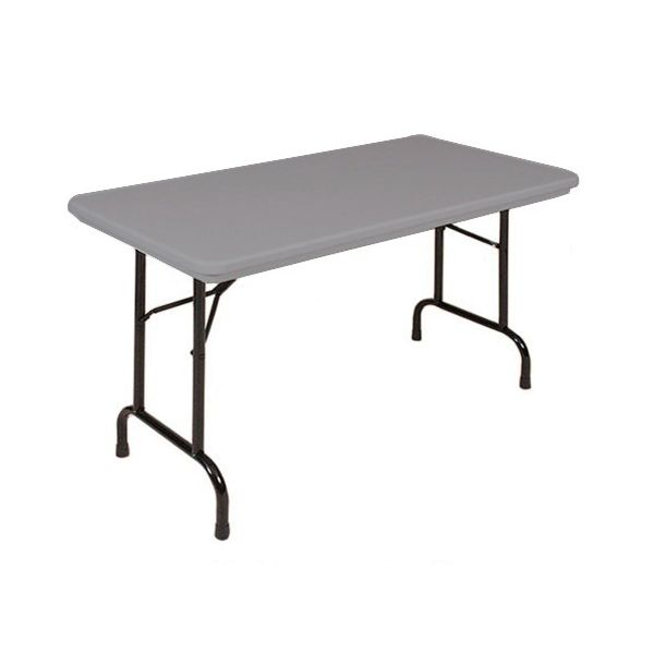 Correll Blow-Molded Tamper Resistant Folding Seminar Table