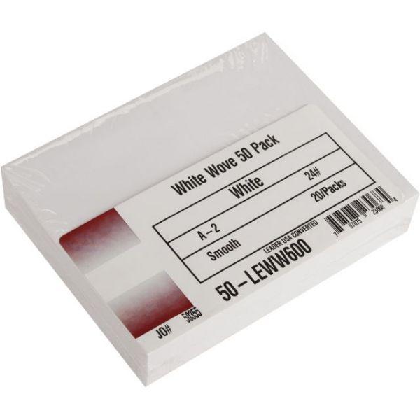 """Leader A2 Envelopes (4.375""""X5.75"""") 50/Pkg"""