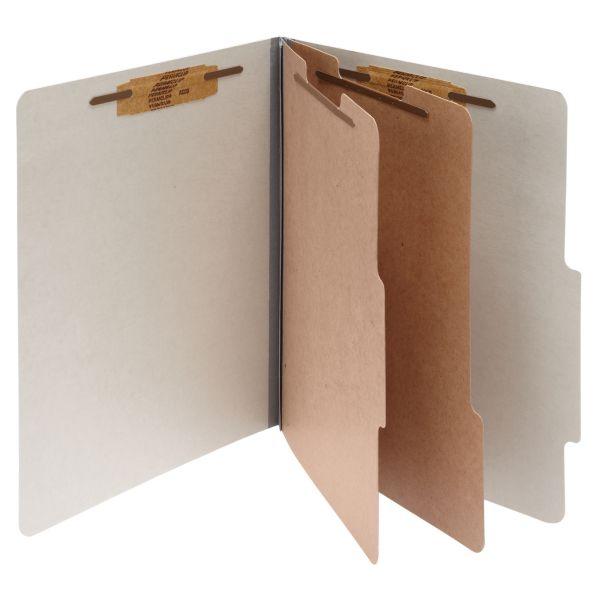 Acco 2-Divider Pressboard Classification Folders