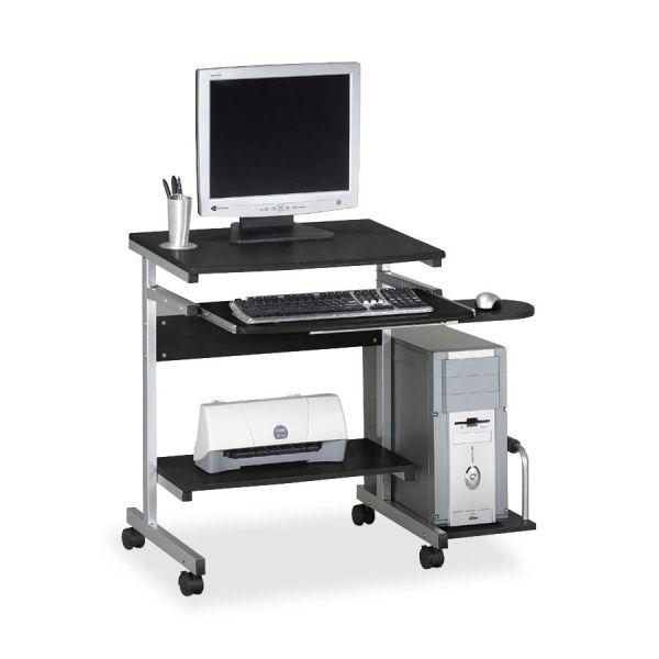 Tiffany Industries Portrait Mobile PC Workstation, 36-1/2w x 28-1/2d x 30h, Charcoal Laminate Top