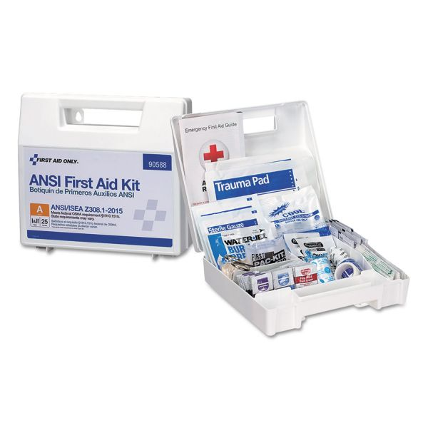 First Aid Only 89-piece ANSI First Aid Kit