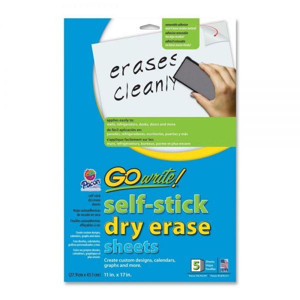 Pacon GoWrite! Self Stick Dry-Erase Sheet