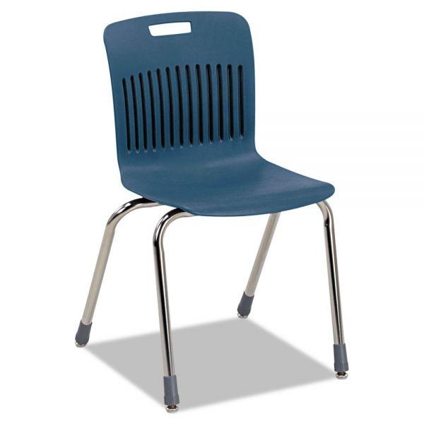 Virco Analogy Ergonomic Plastic Stacking Chairs