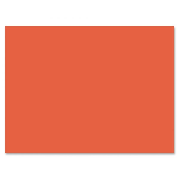 Pacon Orange Construction Paper