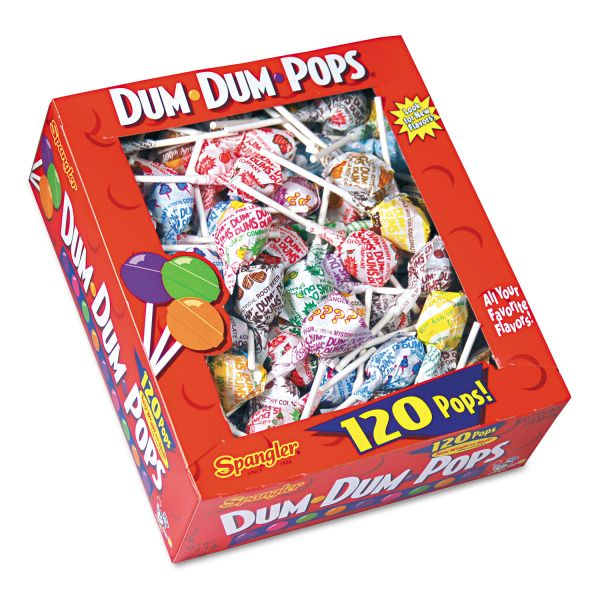Dum Dum Pops Individually Wrapped Hard Candy