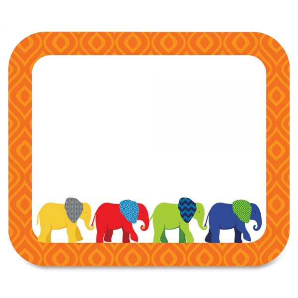 Carson-Dellosa Parade of Elephants Name Tags