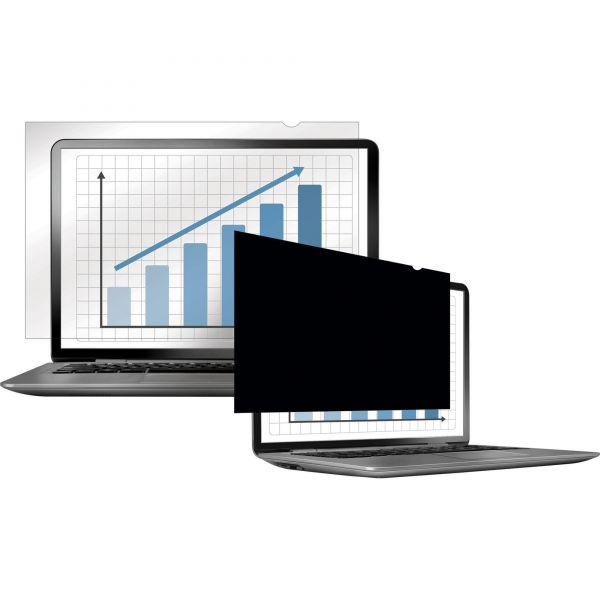 """Fellowes PrivaScreen Blackout Privacy Filter - 14.0"""" Wide"""