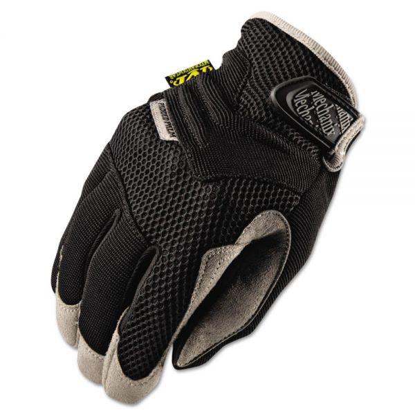 Mechanix Wear Padded Palm Gloves, Black, XL