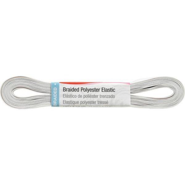 """Washable Polyester Elastic 1/2""""X4-1/2yd"""