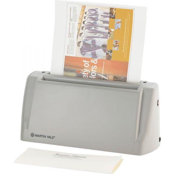 Martin Yale Model P6200 Desktop Paper Folder, 1800 Sheets/Hour