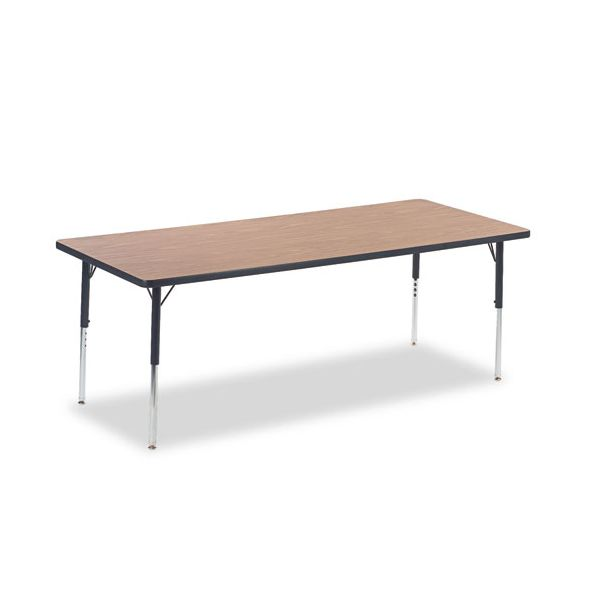 Virco 4000 Series Height Adjustable Rectangular Activity Table