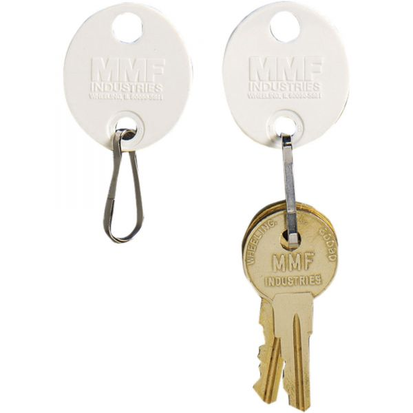 MMF Oval Plastic Key Tags