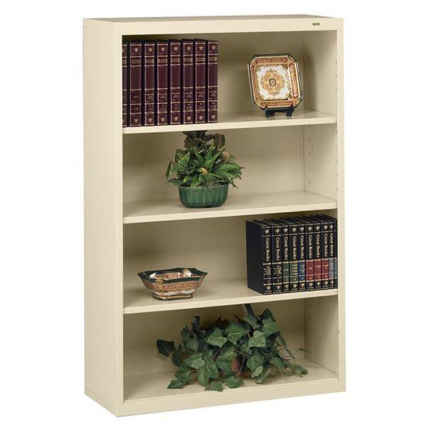 Tennsco Deep 4-Shelf Welded Steel Bookcase