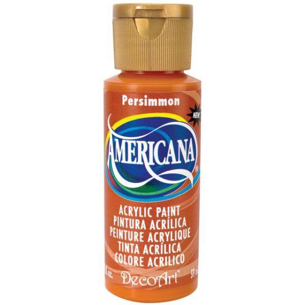Deco Art Persimmon Americana Acrylic Paint