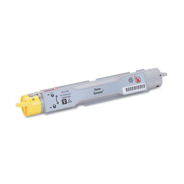 Xerox 106R01084 Yellow High Yield Toner Cartridge