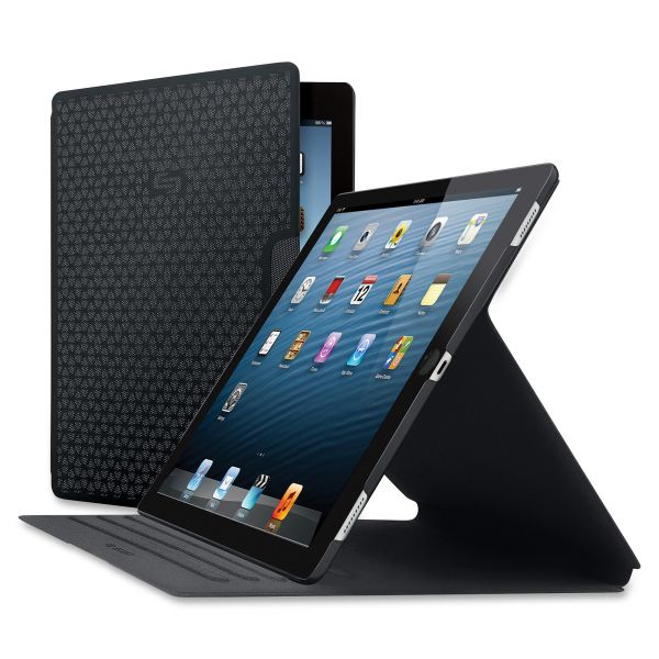 Solo Vector Carrying Case for iPad Pro, Tablet - Black/Gray