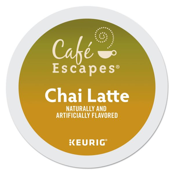 Café Escapes Chai Latte Tea K-Cups