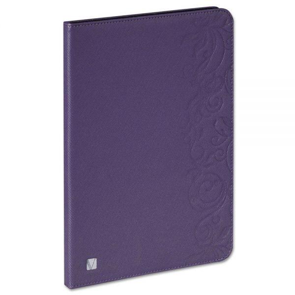 Verbatim Folio Expressions Case for iPad Air, Floral Purple