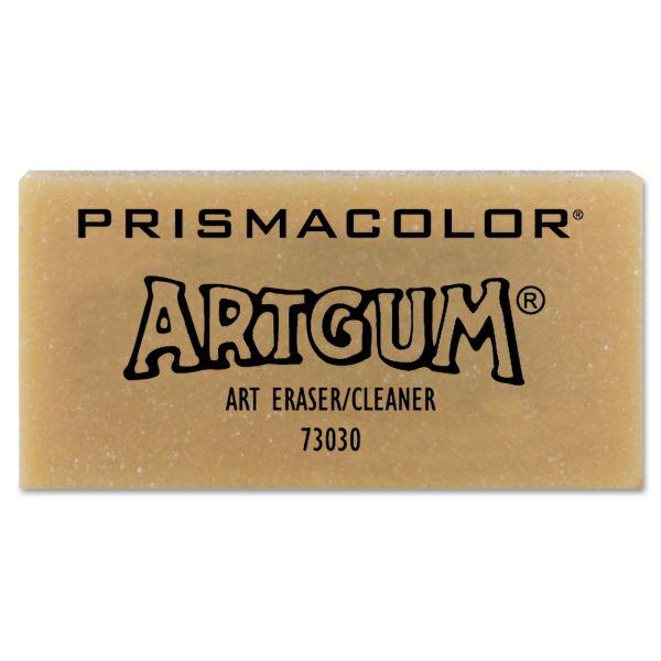 Prismacolor ARTGUM Non-Abrasive Eraser, Dozen