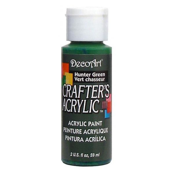 Deco Art Crafter's Acrylic Hunter Green Acrylic Paint