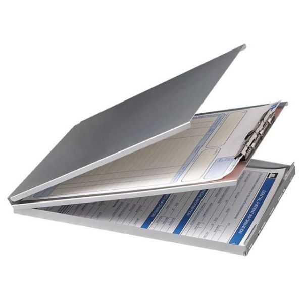 OIC Top Loading Aluminum Storage Clipboard