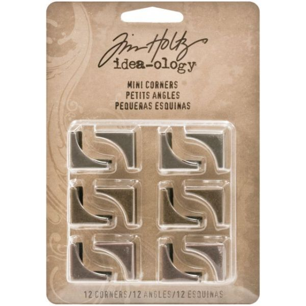 "Idea-Ology Mini Plain Corners .75"" 12/Pkg"