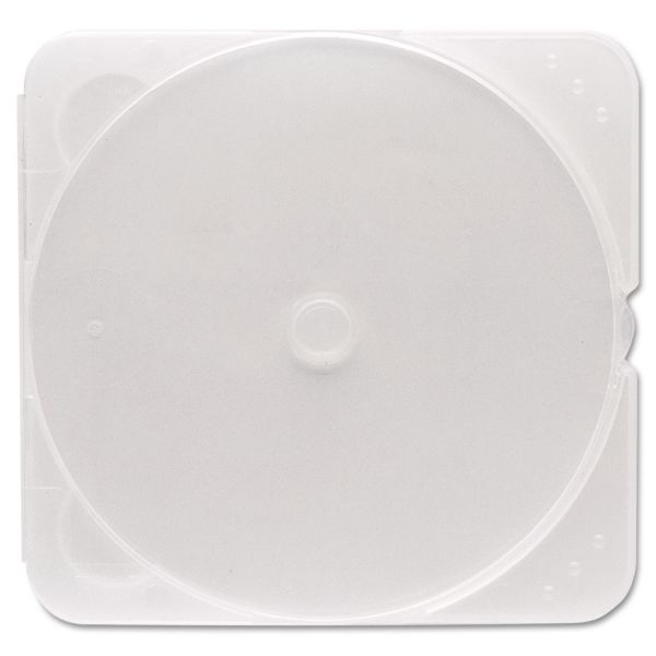 Verbatim CD/DVD Clear TRIMpak Cases - 200pk (bulk) - TAA Compliant