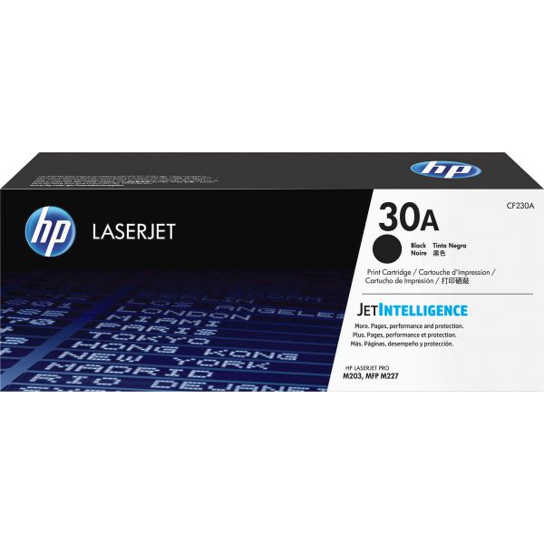 HP 30A Black Toner Cartridge (CF230A)